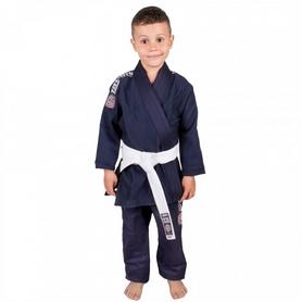 Кимоно для джиу-джитсу детское Tatami BJJ Kids Nova 2015 Navy Blue