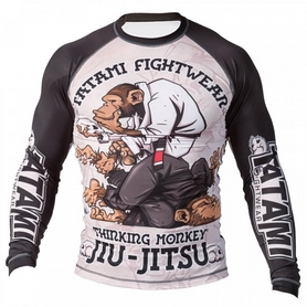Рашгард Tatami Thinking monkey Rash Guard  Принт