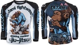 Рашгард женский Tatami Ladies Drinker Monkey Rash Guard Принт