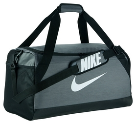 Сумка спортивная Nike Brasilia Medium Duffel Gray