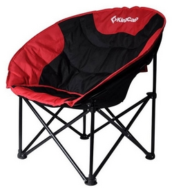 Кресло туристическое складное KingCamp Moon Leisure Chair Black/Red