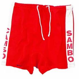 Шорты для самбо Combat Budo MA-5312-R красные