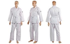 Распродажа*! Кимоно для карате Mizuno MA-5314-0 белое - 140 см