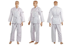 Кимоно для карате Mizuno MA-5314-0 белое