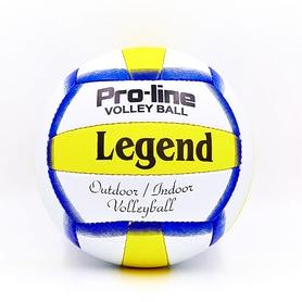 Мяч волейбольный Legend PU LG5191 №5 бело-желтый