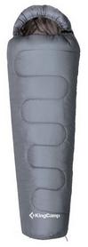 Мешок спальный (спальник) KingCamp Treck 300(KS3131) R серый