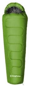 Мешок спальный (спальник) KingCamp Treck 300(KS3131) R зеленый