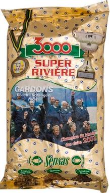 Прикормка Sensas 3000 Super River Roach (1 кг)