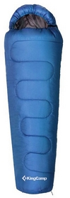 Мешок спальный (спальник) KingCamp Treck 450L(KS3193) R синий