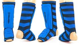 Защита для ног (голень+стопа) ZLT ZB-4218-B синяя