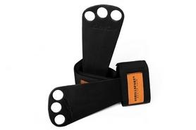 Распродажа*! Лямки для тяги кожаные Onhillsport OS-038 - размер S