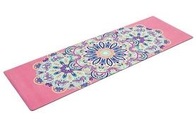 Коврик для йоги (йога-мат) Pro Supra FI-5662-6 3 мм розовый