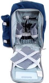 Набор для пикника на 2 персоны KingCamp Picnic Bag-2 Blue