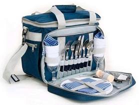 Набор для пикника на 3 персоны KingCamp Picnic Icy Bag 3 Blue