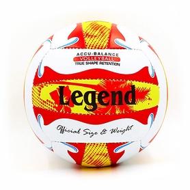 Мяч волейбольный Legend PU LG5399 №5 бело-красный