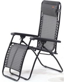 Шезлонг KingCamp Deckchair Cool Style Middle gray
