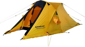 Палатка двухместная KingCamp Apollo Light KT3002 желтая