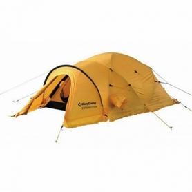 Палатка двухместная KingCamp Expedition KT3001 желтая