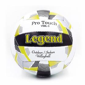 Мяч волейбольный Legend PU LG5400 №5 черно-белый