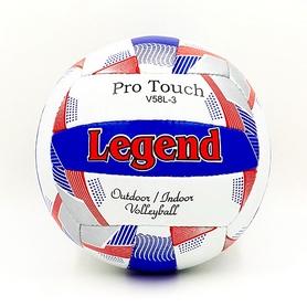 Мяч волейбольный Legend PU LG5404 №5 бело-синий