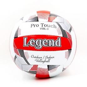 Мяч волейбольный Legend PU LG5406 №5 бело-красный