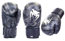 Перчатки боксерские детские Venum MA-5432-BK черные