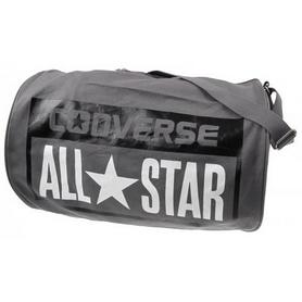 Сумка спортивная Converse Legacy Barrel Duffel Bag Varsity серая