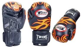 Перчатки боксерские Twins MA-5435 черные