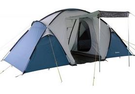 Палатка четырехместная KingCamp Bari 4 KT3030 Grey/Blue