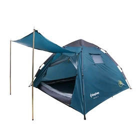 Палатка трехместная KingCamp Monza 3 Cyan blue