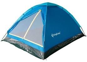Палатка трехместная KingCamp Monodome 3(KT3010) Blue