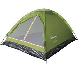 Палатка трехместная KingCamp Monodome 3(KT3010) Green