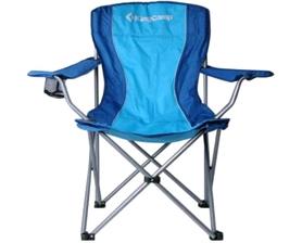 Кресло туристическое складное KingCamp Arms Chairin Steel (KC3818) Blue
