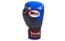 Фото 2 к товару Перчатки боксерские Twins FBGLL-TW1-BU синие