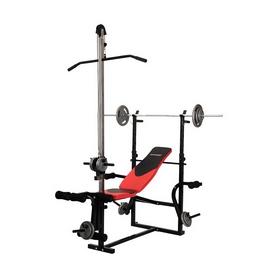 Скамья для тренировок с верхней тягой Hop Sport HS-1070B