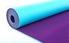 Коврик для йоги (йога-мат) ТРЕ+TC 6 мм фиолетовый - фото 2