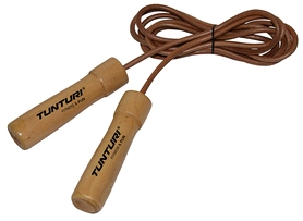 Скакалка кожаная Tunturi Leather Skipping Rope Pro