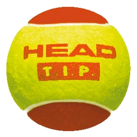Мячи для большого тенниса Head Tip Red (3 шт) для детей 5-8 лет