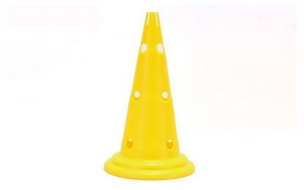 Фишка спортивная конус Soccer 32 см C-5911-Y желтая