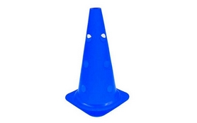 Фишка спортивная конус Soccer 38 см C-4604-B синяя