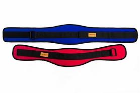 Распродажа*! Пояс тяжелоатлетический тканевый Onhillsport Slim OS-050-1 синий - размер M