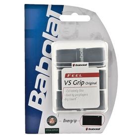 Намотка для теннисной ракетки Babolat VS Overgrip черная 3 шт