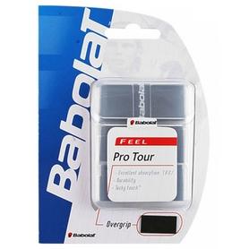 Намотка для теннисной ракетки Babolat Pro Tour Overgrip черная 3 шт