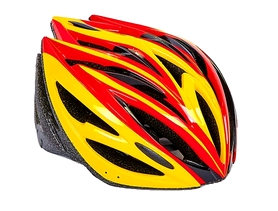Велошлем ZLT SK-5612-6 красный-желтый