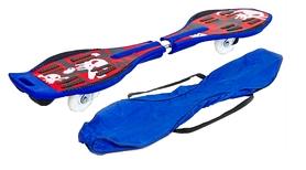 Скейтборд двухколесный (рипстик) ZLT RipStik Skull SK-5614-R красный