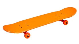 Скейтборд ZLT SK-5615-1 оранжевый