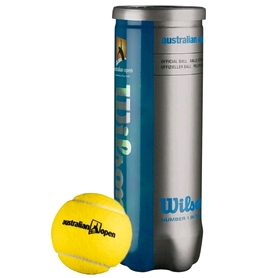 Мяч для большого тенниса Wilson T1087 Australian Open (3 шт)