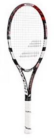 Ракетка для большого тенниса Babolat Pulsion 102 Strung grip 2 красная