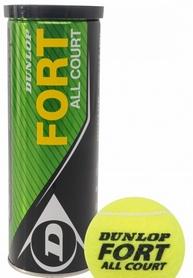 Мячи для большого тенниса Dunlop Fort All Court 3Tin (3 шт)