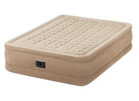 Кровать надувная велюровая Intex 64458 (152х203х46 см)